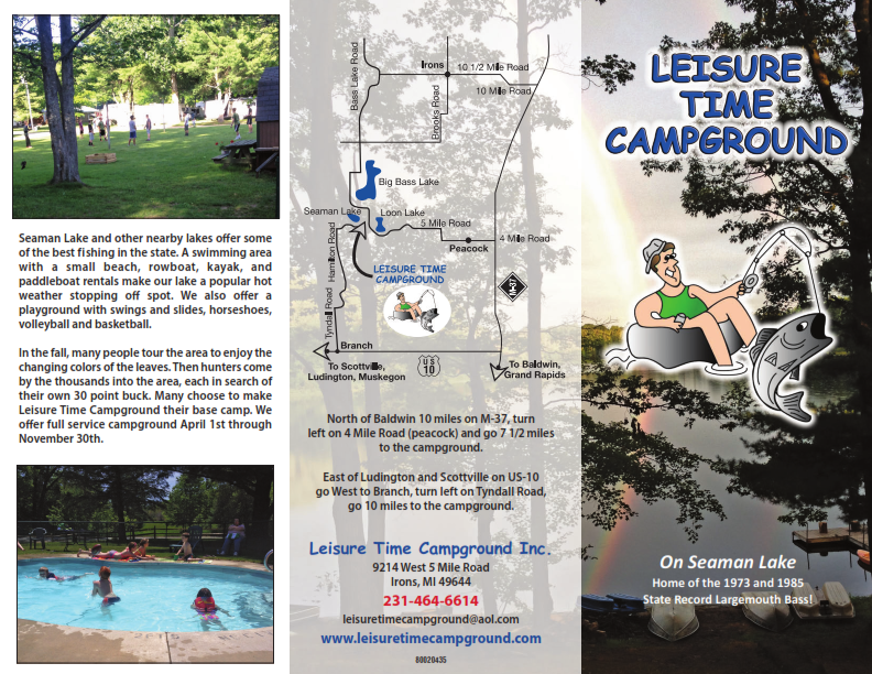 Leisure Time Campground Brochure