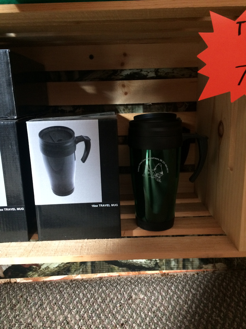 travel mugs - $7.99